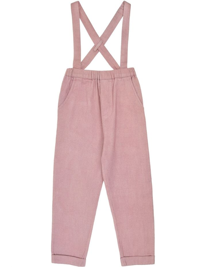 PINK TROUSERS WITH BRACES