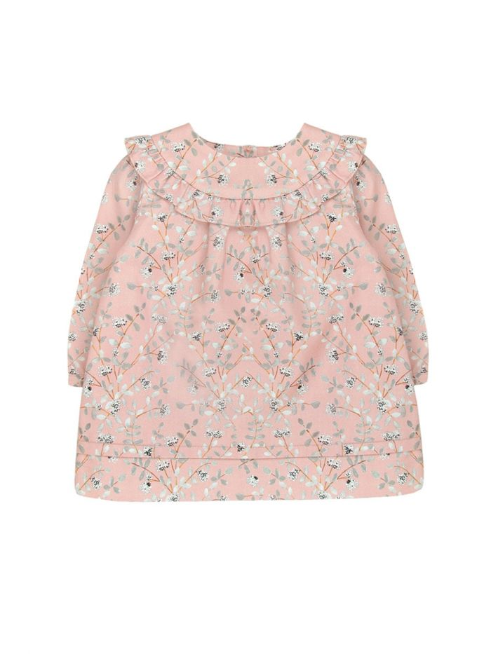 COTTON FLORAL DRESS BABY