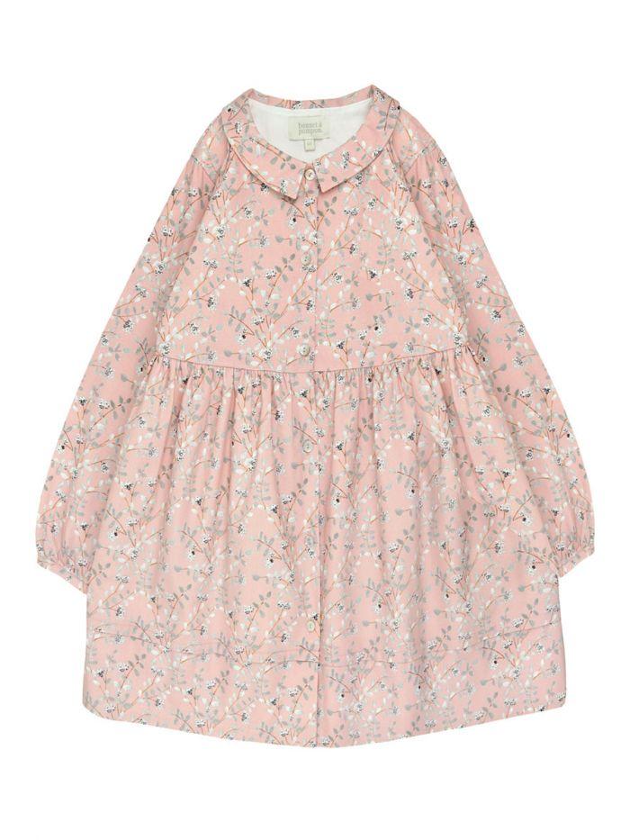 COTTON FLORAL DRESS GIRL