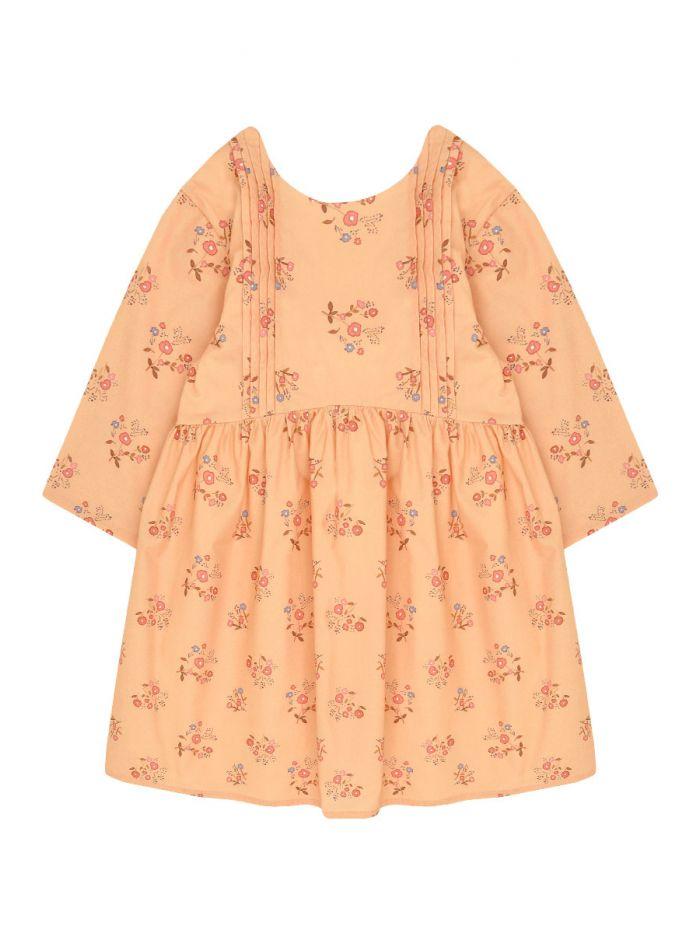 BOUQUET OF FLOWERS DRESS GIRL