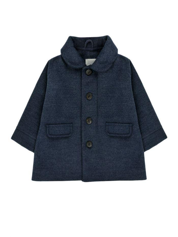 DARK BLUE BABY COAT