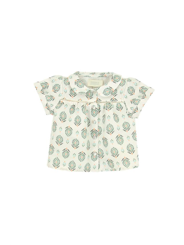 OASIS PRINT BLOUSE BABY